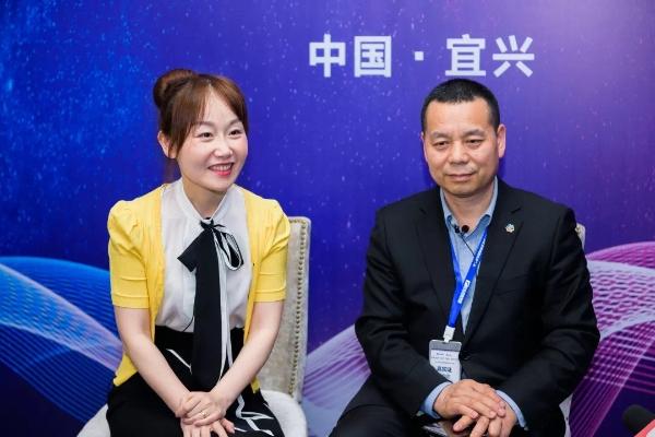 蒋承志接受媒体专访